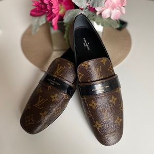 Louis Vuitton Upper Case Leather Loafers